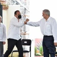 Recibe Cuauhtémoc nuevo respaldo de López Obrador