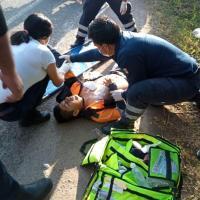 Asesinan a balazos a policía vial de Yautepec y hieren a su acompañante