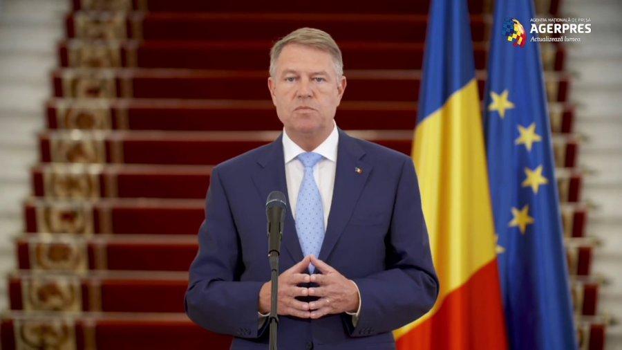 Video Iohannis: Nu se redeschid școlile, universitățile; anul școlar se încheie pe 12 iunie