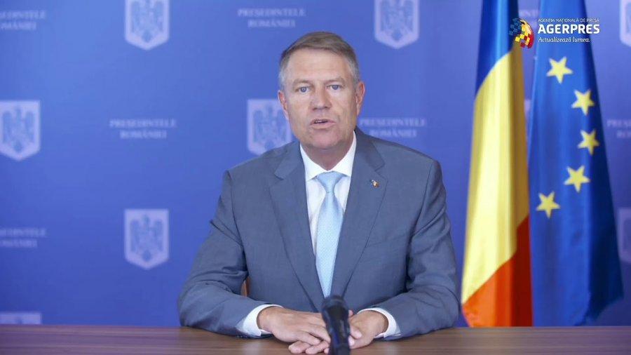 Video Iohannis: Voi susține crearea unui fond de redresare economică de care să poată beneficia toate statele membre UE