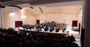 """Orchestra Simfonică în concert la Sala """"Patria"""" înainte de...pandemie"""