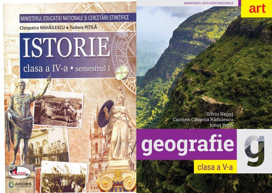 Ministerul Educaţiei: Disciplinele Istorie şi Geografie nu se desfiinţează sau comasează