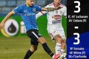 Fotbal - Liga I: FC Viitorul - Sepsi OSK Sfântu Gheorghe 3-3