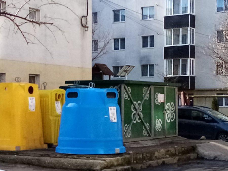 TEGA va amplasa noi containere de colectare a deşeurilor