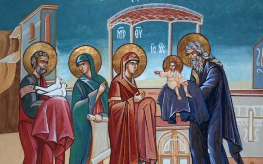 Tradiţii:  Întâmpinarea Domnului