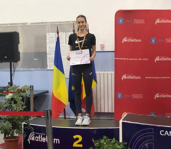 Vasile Rut Cristina, sportiva de aur a CSM Sfântu Gheorghe
