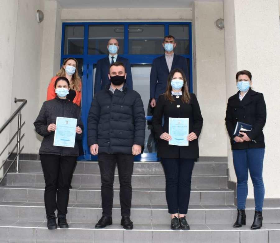 Trei noi polițiști care își vor desfășura activitatea în cadrul IPJ Covasna – Biroul pentru protecția animalelor, au depus jurământul de credință