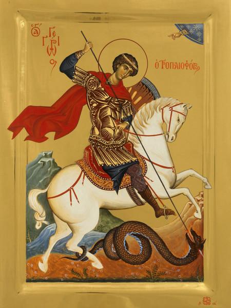 Tradiţii-Sf. Mare Mucenic Gheorghe, Purtătorul de biruinţă