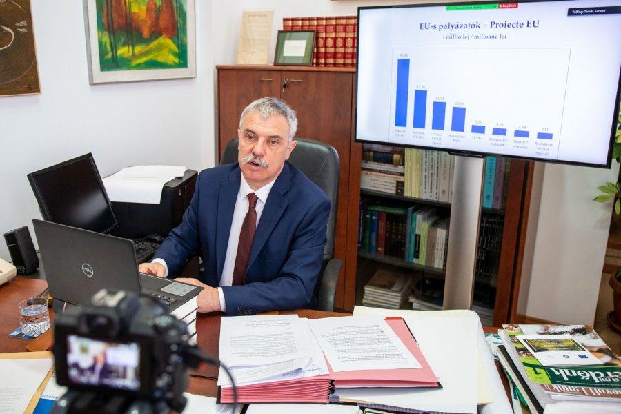 Consiliul Judeţean are cel mai mare buget din ultimii 30 de ani - 79 milioane euro