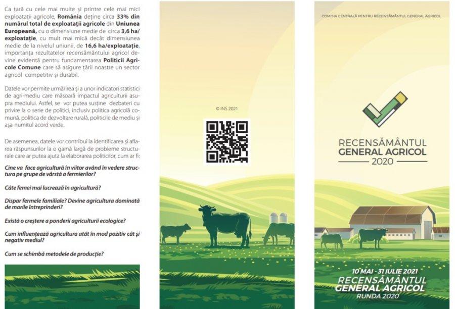 Pregătiri pentru recensământul general agricol