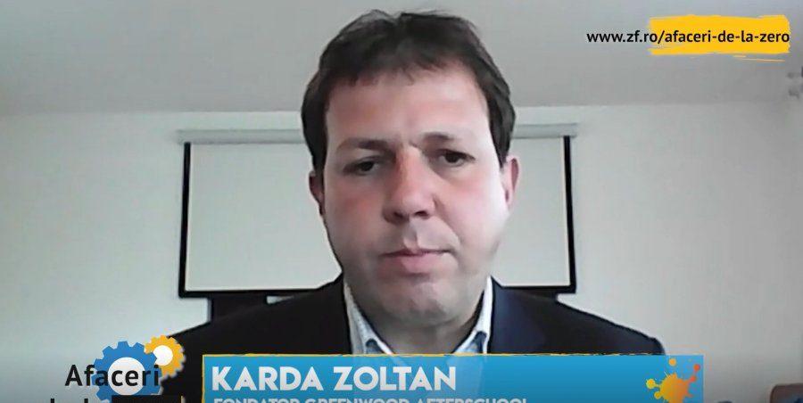 Karda Zoltan a fondat un after-school bazat pe studierea mediului înconjurător, iar din 2020 a început să organizeze tabere ecologice în judeţul Covasna.