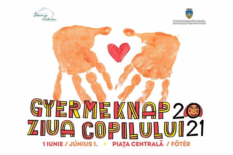 Ziua Copilului va fi sărbătorită cu numeroase activităţi în centrul municipiului Sfântu Gheorghe