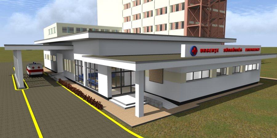 Unitatea de Primiri Urgenţe a Spitalului Judeţean va fi modernizată