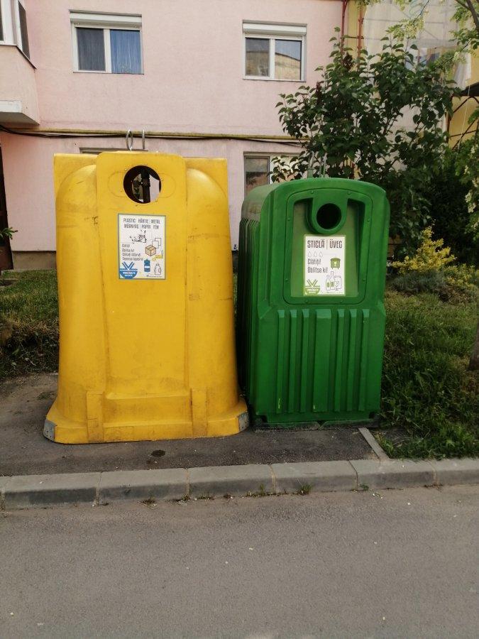 Deșeurile de sticlă se colectează separat, şi în Baraolt