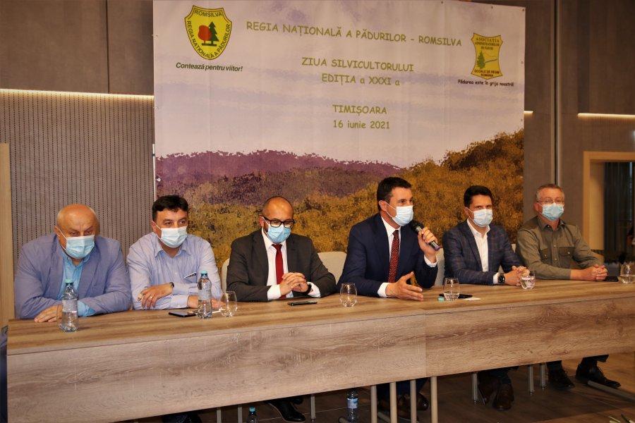 Ziua Silvicultorului a fost marcată de Regia Națională a Pădurilor – Romsilva și Asociația Administratorilor de Păduri