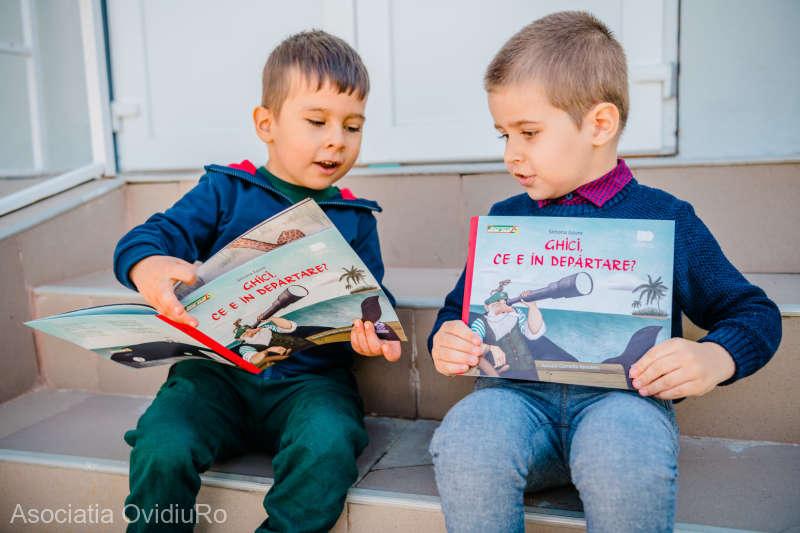120.000 de cărţi donate preşcolarilor din medii defavorizate şi tuturor educatorilor din România