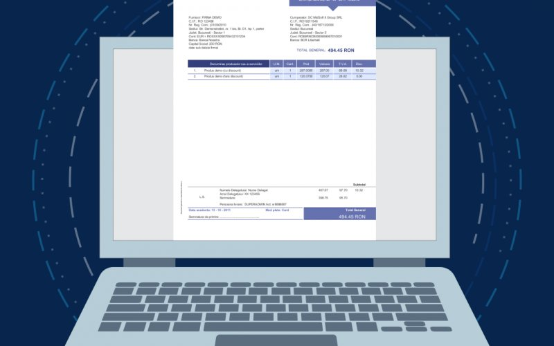 Adoptarea facturării electronice în România ar permite economisirea la bugetul statului a circa 100 de miliarde de euro în 10 ani (asociaţie)