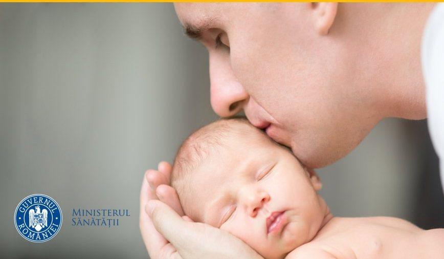 Spitalul Judeţean de Urgenţă va permite accesul taţilor în sălile de naşteri