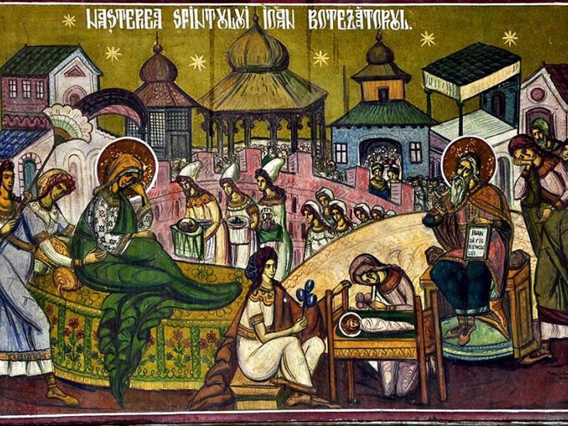 TRADIŢII  Sânzienele, Naşterea Sf. Ioan Botezătorul și Ziua Universală a Iei