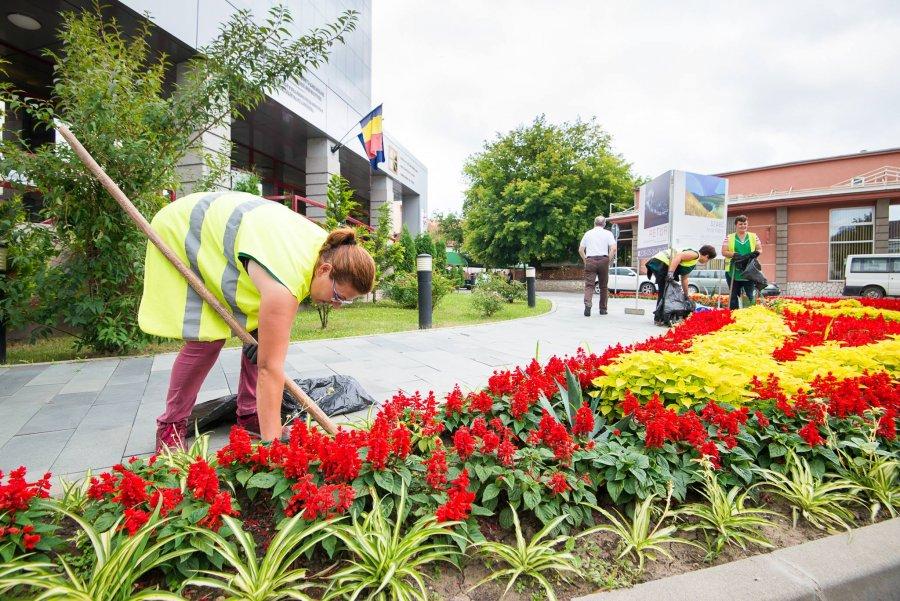 Continuă lucrările în mai multe zone din oraș