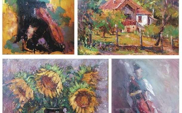"""Expoziție de pictură, în Sala """"Alegria"""" a Hotelului """"Căprioara"""" din orașul Covasna"""