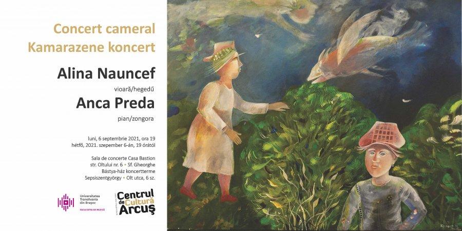 Concert cameral de excepție la Centrul de Cultură Arcuș