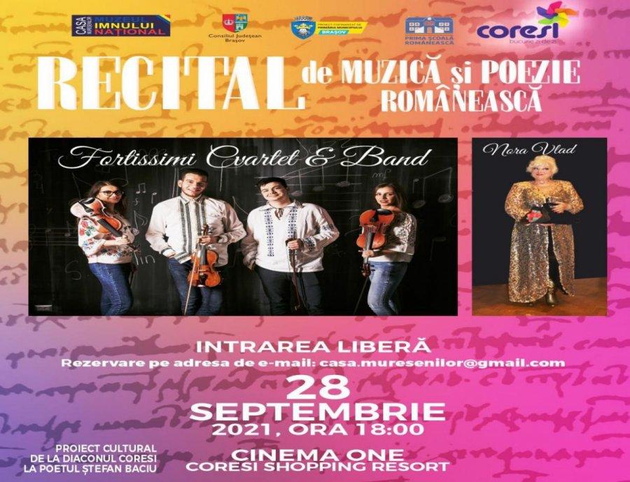 Recital de muzică și poezie românească