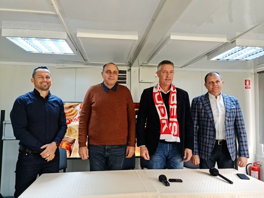 Cristiano Bergodi (Sepsi) - Noul stadion poate fi o motivaţie pentru jucători în meciul cu Voluntari