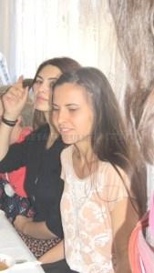 Claudia (stg) si Daniela