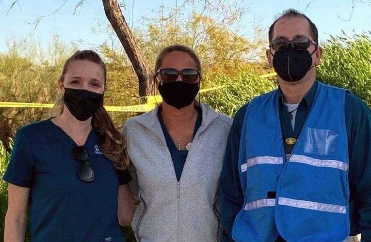 MCC nursing students volunteer at state vaccination sites
