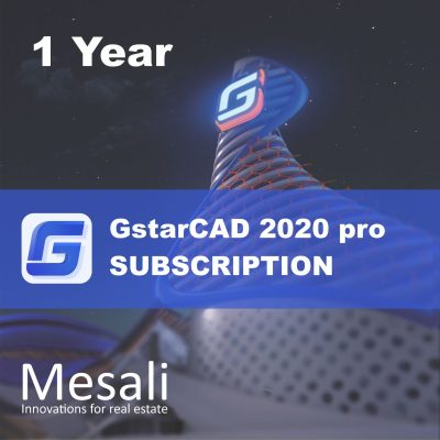 GstarCAD 2020 subscription