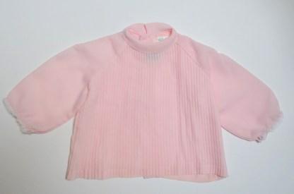 Chemisier rose poudré pour enfant en polyester de la marque Terlenka Hugerto Haute Couture.