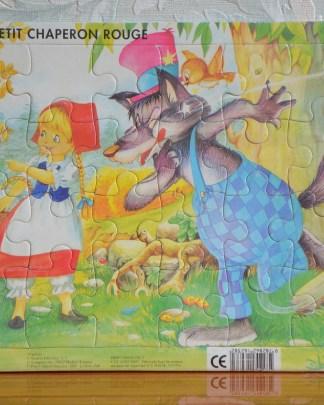 Puzzle le petit Chaperon Rouge 24 pièces