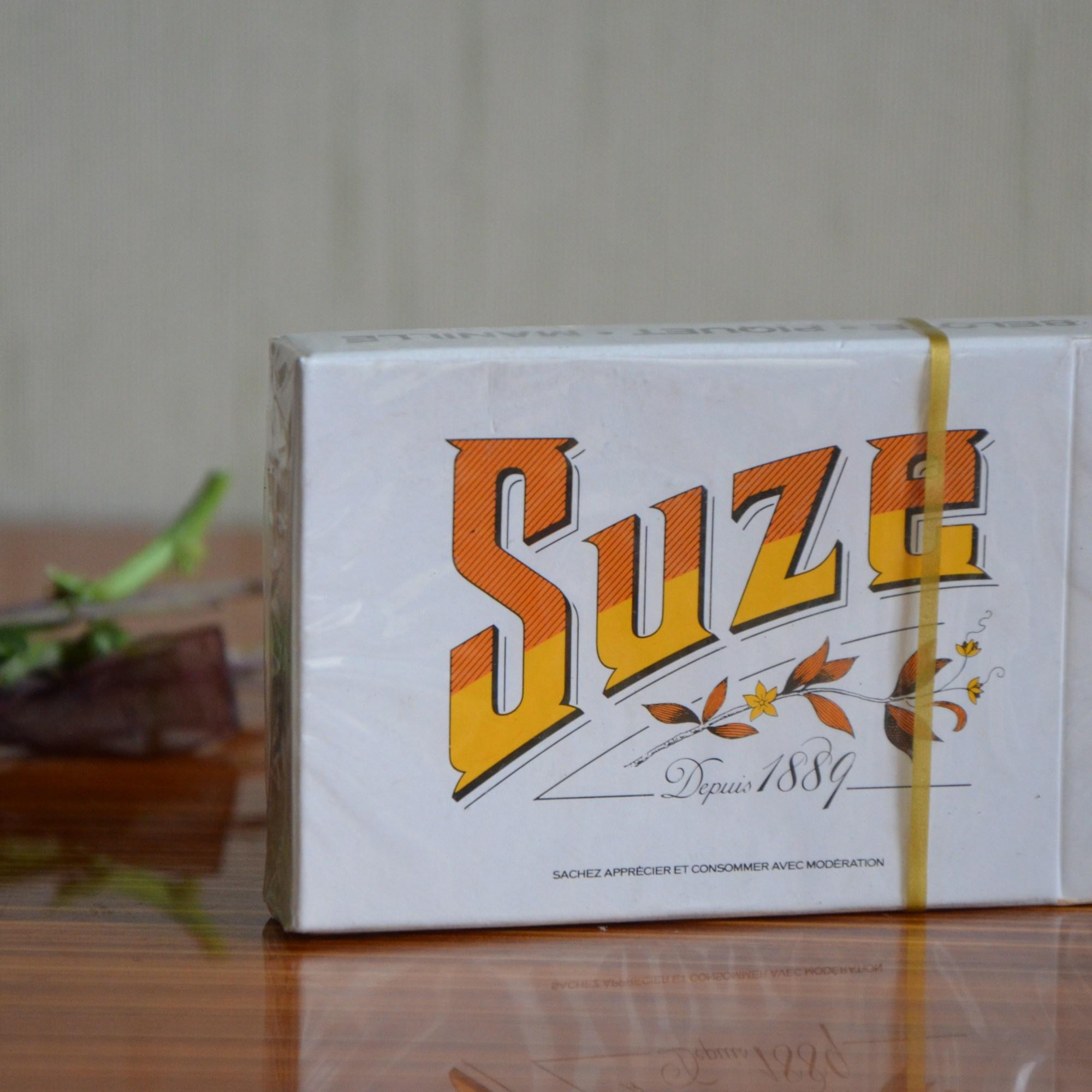Jeu de cartes publicitaire de l'alccol Suze