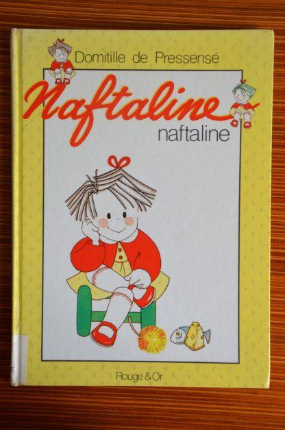 Livre pour enfant Naftaline, édité en 1988. Désherbage d'une école.