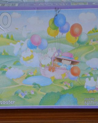 "Puzzle 30 pièces Tiny Candy ""le voyage enchanté"", puzzle Nathan 31.5x41.5. 1984, made in France"