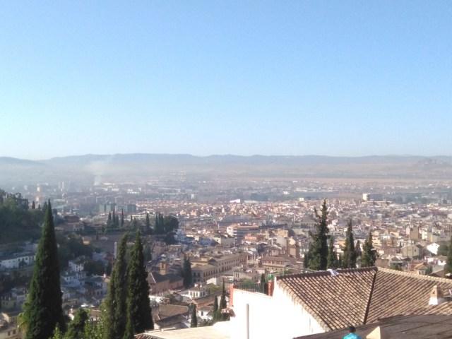 La calidad del aire vuelve a empeorar en Granada con la desescalada tras la COVID19
