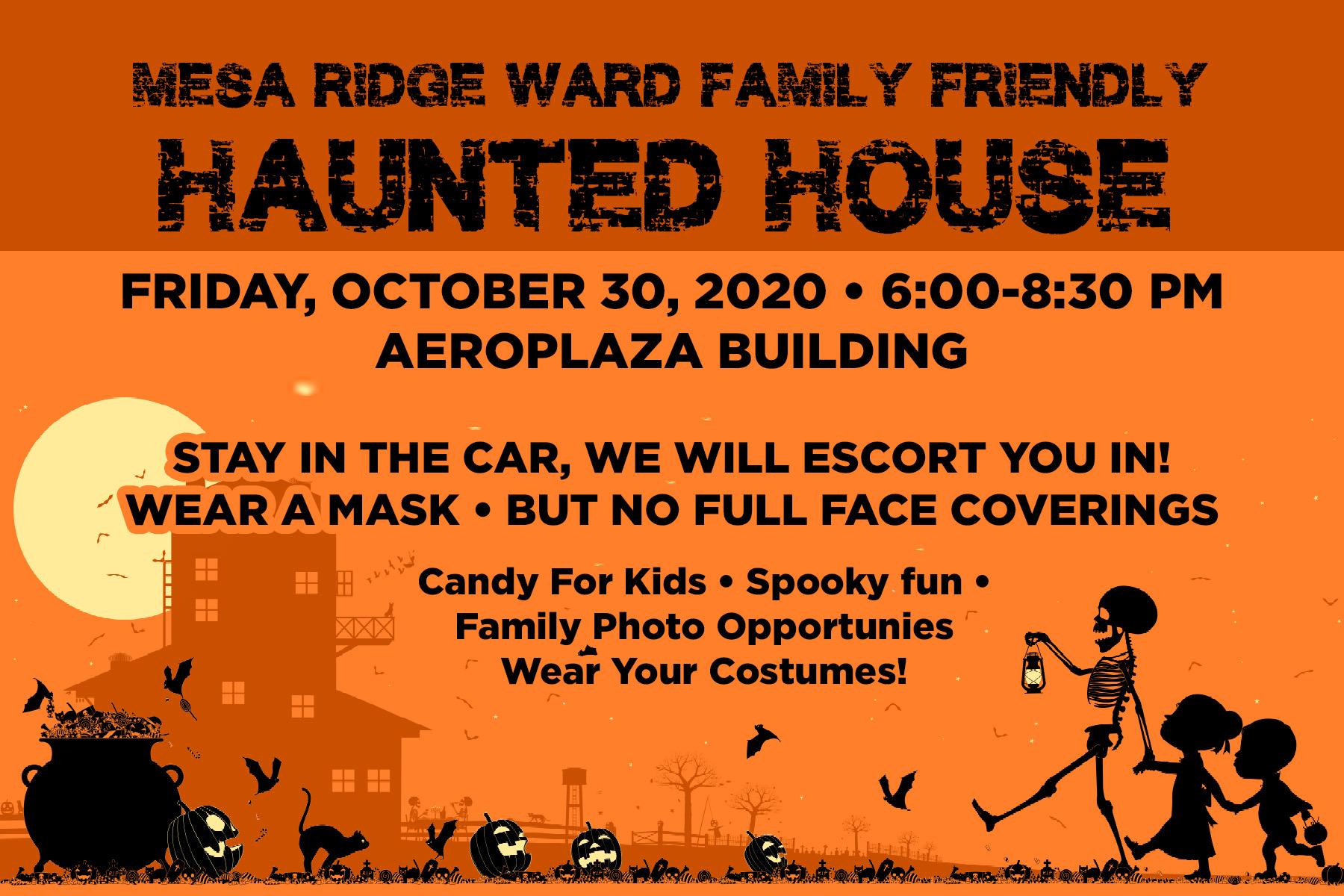 Activity Family Friendly Haunted House Mesa Ridge Ward