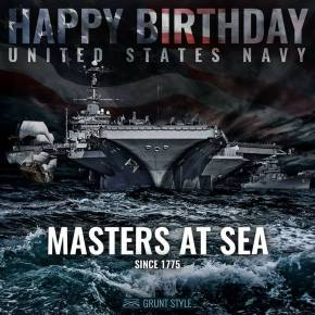 US Navy Birthday