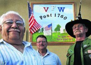 Boy Scout's mural adorns Mesa VFW post