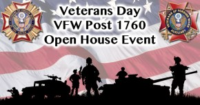 Veterans Day Open House Event @ VFW Post 1760 Hall | Mesa | Arizona | United States