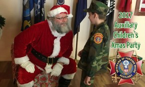 Auxiliary Children's Christmas party
