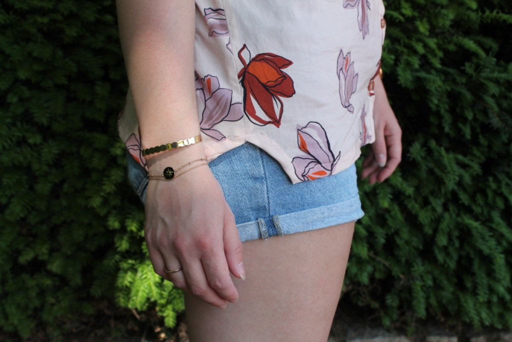 Patron parisette blousette rose ourlet