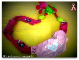chaine rose