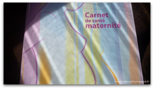 carnet maternite