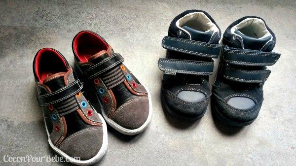 chaussures semelles souples enfant
