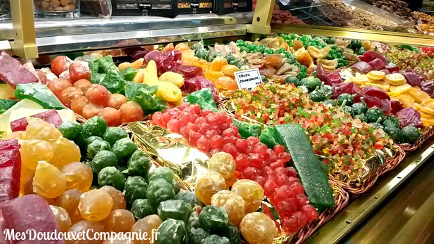 fruits confits boqueria barcelone