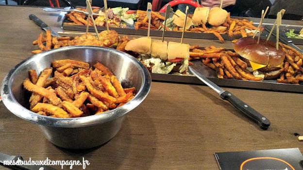 frites patates douces buffalo burger