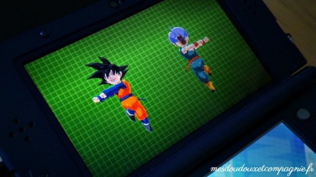 DRAGON BALL FUSION 3DS