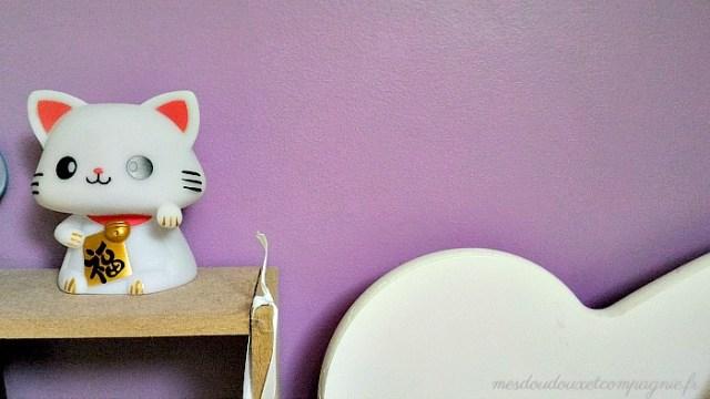 veilleuse lucky cat